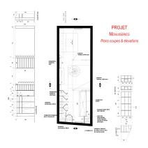 Projet / Plan des menuiseries combles