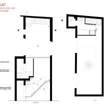 Escalier RDC / Plans