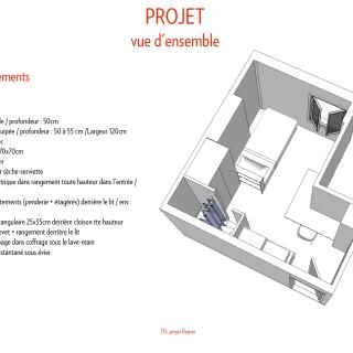 Projet / vue perspective & description