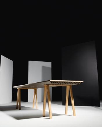 Table climatique par Jean-Sébastien Lagrange et Raphaël Ménard (Espace VIA - photo : Colombe Clier)