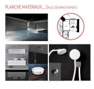 Planche matériaux_Salle de bain enfants