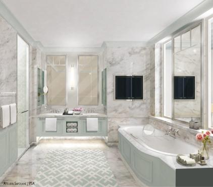 Chambre type 1_Salle de bain