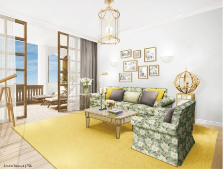 Chambre type 2 _ Lounge