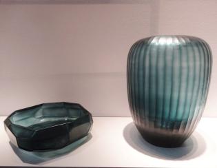 Coupelle et vase en verre chez Guaxs