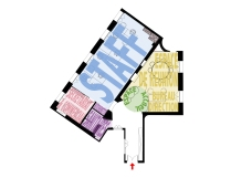 Plan projet / Zoning - Option 2