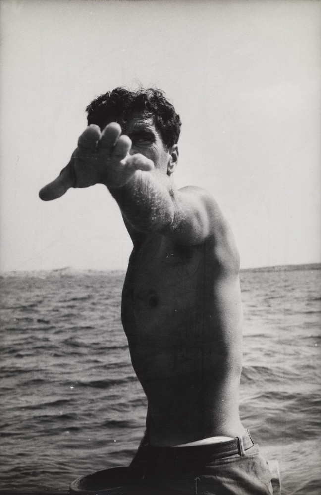 Louis Stettner-Tony, de la série Pepe and Tony, Spanish Fishermen, Ibiza, Espagne 1956