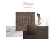 Matériaux chambre à coucher