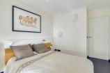 Chambre secondaire, appliques ballon et aquarelle