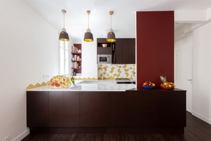 Séjour : vue sur cuisine